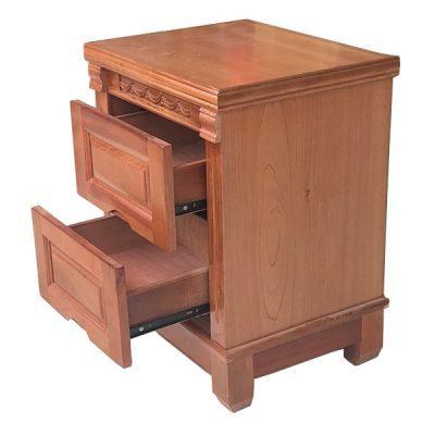 tủ đầu giường gỗ xoan đào giá rẻ