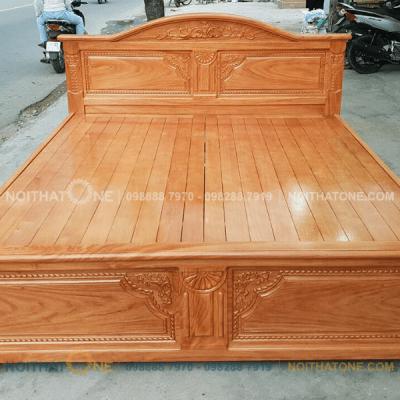 giường ngủ gỗ gõ đỏ cao cấp