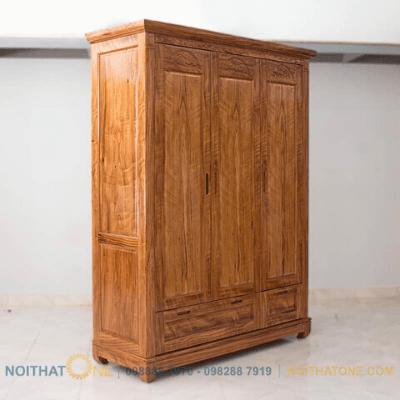 tủ áo quần gỗ hương đá