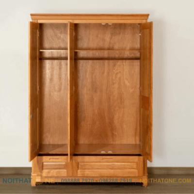 tủ quần áo gỗ đinh hương cao cấp