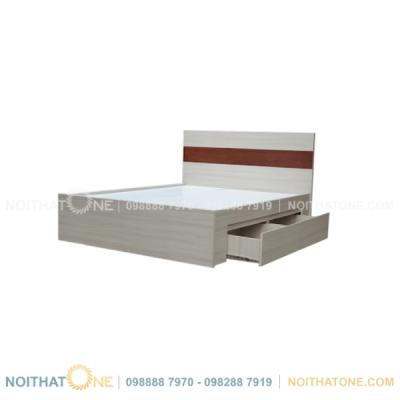 giường ngủ gỗ veneer