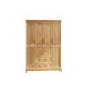 Tủ quần áo gỗ sồi nga 4 cánh