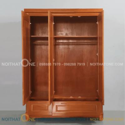 tủ quần áo gỗ xoan đào giá rẻ