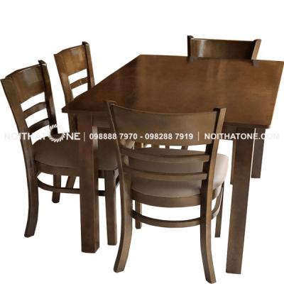bộ bàn ăn mẫu cabin