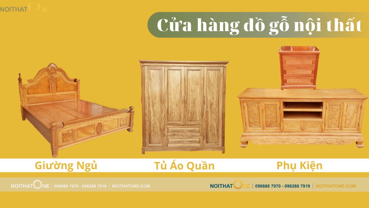 cửa hàng đồ gỗ nội thất