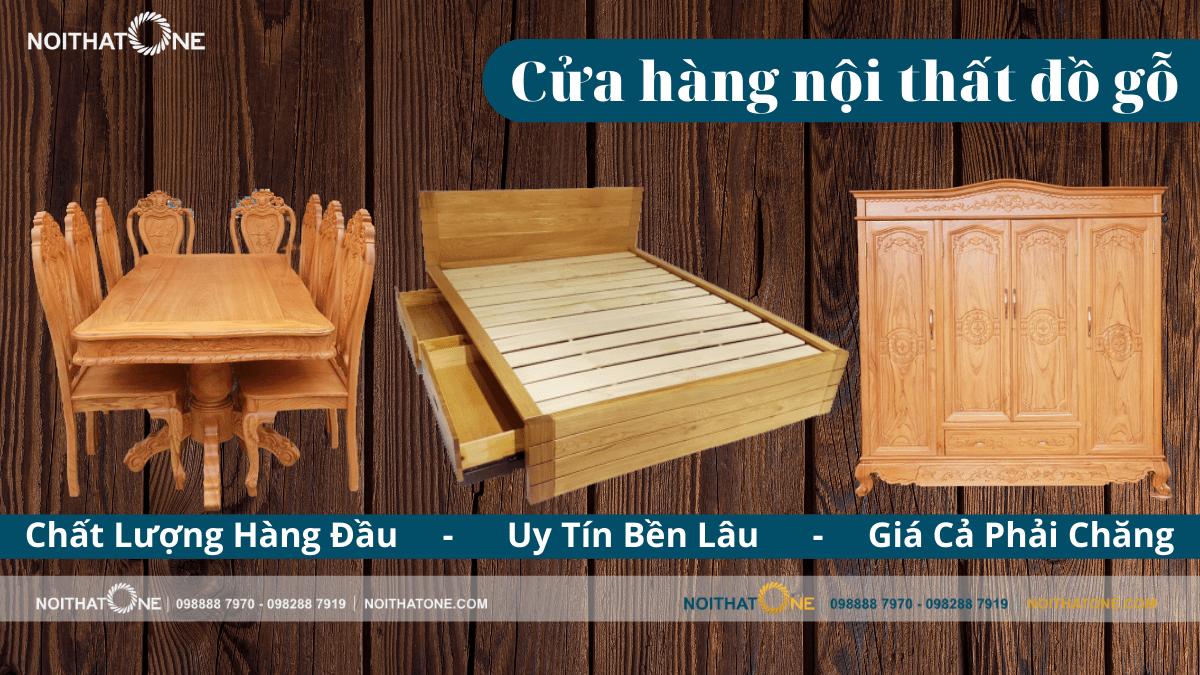 nội thất đồ gỗ đẹp giá rẻ