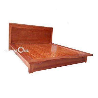 giường ngủ gỗ xoan đào kiểu nhật